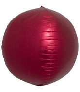 "17"" Red Sphere"