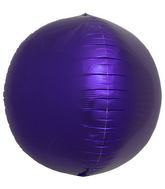 "17"" Purple Sphere Orbz"
