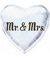 "18"" Mr. & Mrs. Heart"