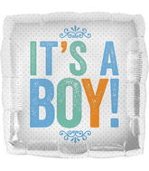 "18"" It&#39s a Boy Block Letters"