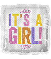 "18"" It&#39s a Girl Block Letters"