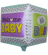 "17"" Welcome Baby Cube"