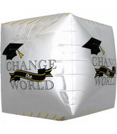 "17"" Change the World Grad Cube"