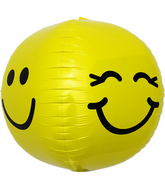 "17"" Smiley Face Sphere"