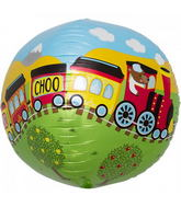 "17"" Choo Choo Train Sphere"