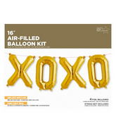 "16"" XOXO Kit - Gold 16"""