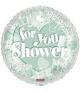 "18"" For Your Shower Balloon"