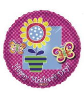 "20"" Happy Mother&#39s Day Flowers and Butterflies"