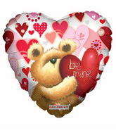 "18"" Huggable Bear Be Mine"