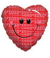 "18"" Xoxo Smiley"