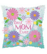 "18"" Best Mom Ever Pillow Balloon"