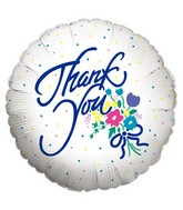 "18"" Thank You Flower Dots"