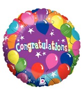 "21"" Congratulations Prsnlzd Photo Balloon"
