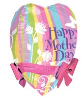 "22"" Mother&#39s Day Pastel Ribbons & Bows"