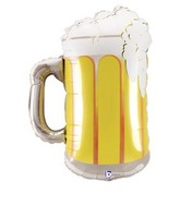 "34"" Foil Frosty Beer Mug Balloon"