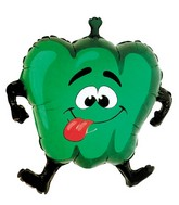 "33"" Green Pepper Vegetable Shape Balloon"