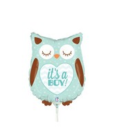 "14"" Airfill Only Mini Air Shape It&#39s a Boy Baby Owl"