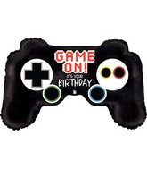 "36"" Foil Shape Balloon Game Controller Birthday"