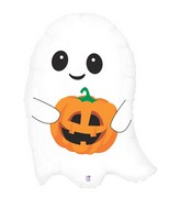 "26"" Foil Shape Balloon Cute Lil&#39 Ghost"