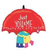 "33"" Foil Shape Balloon Just You & Me"
