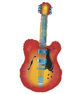 "43"" Mylar Acustic Guitar Super Shape Balloon"