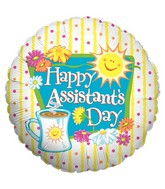 "18"" Balloon Happy Day Assistant"