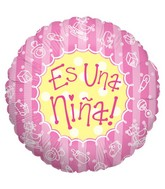 "18"" Baby Bits Girl Es Nina Balloon"