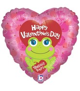 "18"" Toadally Yours Valentine Mylar Balloon"