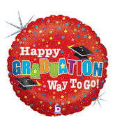 "36"" Jumbo Grad Colorful Balloon"