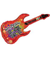 Jumbo Happy Birthday Rock Star Balloon