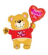 "30"" Valentine Bear Shape Balloon"