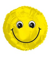 "18"" Smile Cute Foil Balloon"