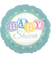 "18"" Baby Shower Foil Balloon"