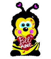 "22"" Buzzy the Bumblebee Bee Mine Foil Balloon"
