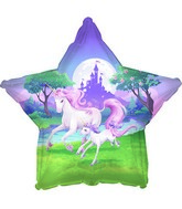 "18"" Unicorn Fantasy Foil Balloon"