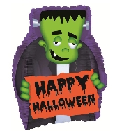 "22"" Frankenstein Shape Foil Balloon"