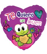 "18"" Te Quiero Un Buen I Love You A Lot"