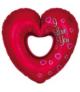 14&#39&#39 Airfill I Love You Cut Out M90