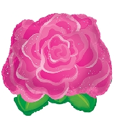 "11"" Pink Rose Balloon"
