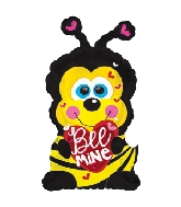 "15"" Airfill Only Bee Mine Buzzy the Bumble Bee Balloon"