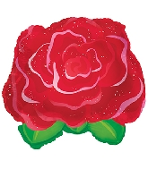 "11"" Red Rose Balloon"