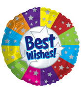 "17"" Best Wishes Balloon"
