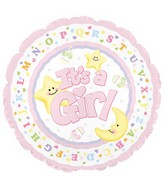 "18"" It&#39s a Baby Girl Star and Moon Box108"