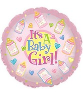"18"" It&#39s a Baby Girl Bottles Box164"