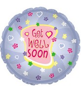 "18"" Get Well Pinwheel Box107"