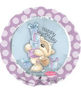"17"" Fizzy Moon Happy Birthday Day Gifts Packaged"