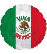"17"" Viva Mexico Balloon"