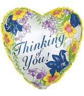 "18"" Thinking of You Floral Box115"