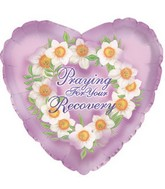 "18"" Praying for Recovery Box105"