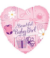 "18"" A Beautiful Baby Girl Box132"